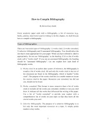 How To Compile Bibliography South African Theological Seminary