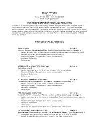 Claims Adjuster Resume Cover Letter For Claims Adjuster Shining