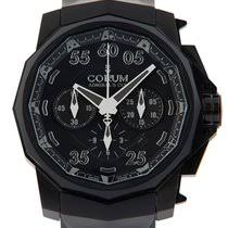 prices for corum watches buy a corum watch at a bargain price at corum admiral amp 39 s cup chronograph black hull 48 999 pieces