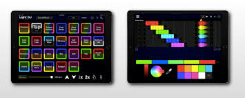 the ipad version of the app offers a dj controllerinspired design for easy liveperformance lighting control configurable sheets allow you to setup your control with ipad r59 with