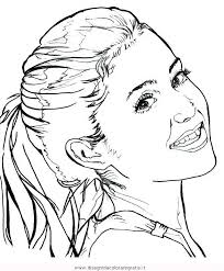 Small Picture Ariana Grande Coloring Pages To Color Sketch Coloring Page