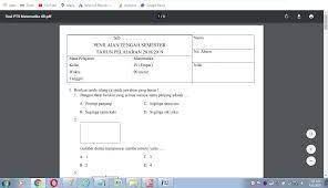 Ind kelas 8 kurikulum 2013. Soal Uts Matematika Kelas 4 Semester 2 Kurikulum 2013 Antapedia Com