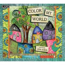 Color My World 2020 Wall Calendar By Lang