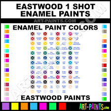 Eastwood Color Chart Light Salmon Pink 1 Shot Enamel Paints 105 37100z Light