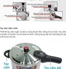 Nồi áp suất bếp từ Inox 304 cao cấp Elmich EL-3369 4L / EL-3371 5.5L - Hàng  chính hãng