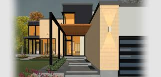 contemporary or modern home design