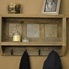 Reclaimed Wood Coat Rack Shelf Fascinating Best Wood Coat Rack With Shelf Products On Wanelo
