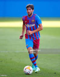 Sergi Roberto of FC Barcelona in action during a friendly match... News  Photo - Getty Images
