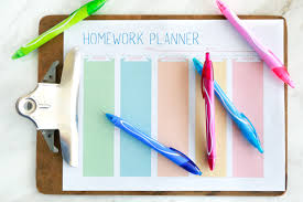 Free Homework Planner Free Printable Homework Planner For Students Simply Being Mommy