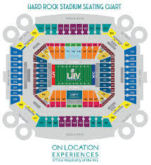 Super Bowl Seating Chart 2018 Super Bowl 2020 Tickets From 6 642 Insider Sports