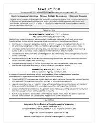 Medical Coder Resume Health Information Technician Medical Coding Resume Sample Entry 84