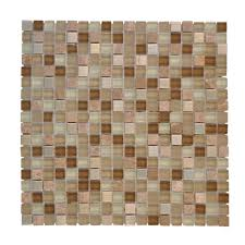 jeffrey court warm topaz 11 75 in x 11 75 in x 8 5 mm glass mosaic