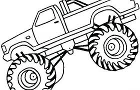 Free Monster Truck Coloring Pages New Monster Truck Coloring Pages