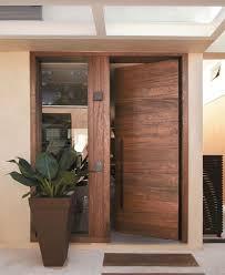 Contemporary Wood Entry Doors Posh Interior Design