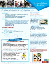 Wellness Newsletter Templates Healthy Eating Health Wellness Providers Workplace