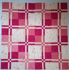 Pink Disappearing 4 Patch – See Kim Sew & disappearing 4 patch blocks Adamdwight.com