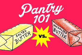Stick Butter Conversion Chart Pantry 101 Salted Butter Vs Unsalted Butter Chatelaine