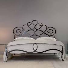 Cozy Design Wrought Iron Headboards For Queen Beds Spacious Bedroom ...