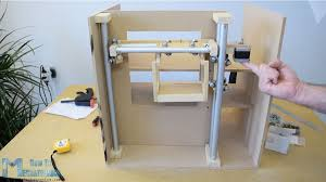 meronics diy vending machine project sliding system with bearings