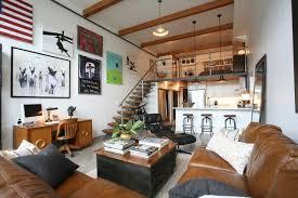 Loft living for newlyweds - The Boston