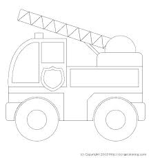 Firetruck Coloring Page Coloring Firetruck Coloring Pages Free Fire