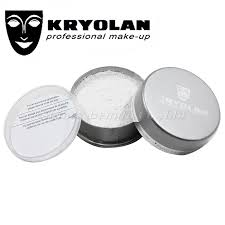 kryolan translucent powder 20g high degree of color neutrality oil control enhances the durability of make up on the skin