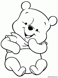 Baby Pooh Coloring Pages Coloring Pages Pinterest Coloring