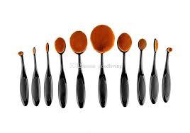 best makeup brushes set oval blending brush multipurpose mermaid toothbrush foundation powder soft face brushes professional