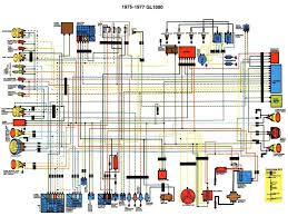 nx650 wiring diagram colour circuit and wiring diagram 1975 77 gl1000 colour schematic