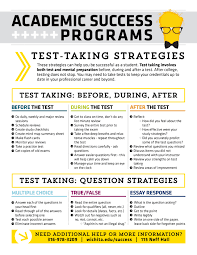 test taking strategies for essay exams  test taking strategies for essay exams