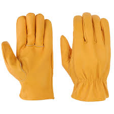 unlined leather gloves by ies