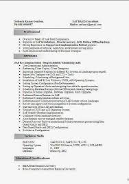 SAP MM Materials Management Sample Resume years experience ...