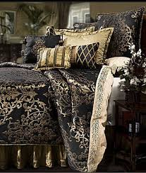 Full Size Of Nursery Beddings:black Luxury Bedding As Well As Black And  Gold Bedroom ...