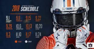 ranking auburn s 2018 football schedule