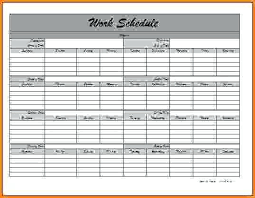 microsoft excel scheduling template monthly work schedule template a monthly schedule microsoft excel