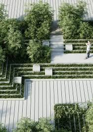 Magic Breeze Landscape Facade Design Penda Magic Breeze Landscape Design In India