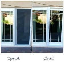 screen for sliding glass door sliding screen door installation catchy sliding screen door retractable with sliding