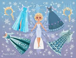 Small Picture PRINCESS COLORING PAGES DISNEY FROZEN PAPER DOLLS FREE PRINTABLE
