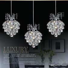 crystal chandelier lighting modern chandelier crystal light pendants three piece lamp hung ceiling dome incredible fixture