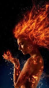 X-Men: Dark Phoenix, girl, fire ...
