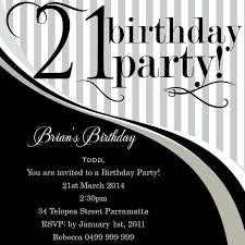 printable 21st birthday cards glamorous 21st birthday invitations 1055