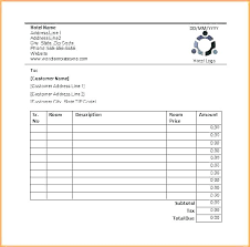 Rent Invoice Sample Magnificent Template Rent Receipt Template Word Doc Free Invoice 48 Sample