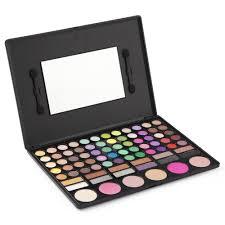 makeup box set. laroc 78 colour eyeshadow eye shadow palette makeup kit set make up box with mirror: amazon.co.uk: beauty t