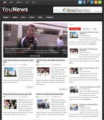 30 News Blog Themes Templates Free Premium Templates