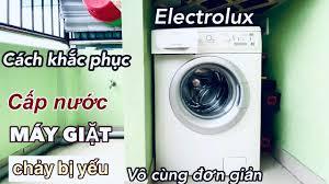 Cách Khắc Phục Cấp Nước MÁY GIẶT Electrolux Chảy Bị Yếu Vô Cùng ĐƠN GIẢN -  YouTube