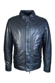 boss hugo boss leather jacket melbin 50321381