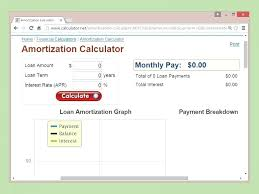 Interest Calculation Excel Loan Auto Amortization Co Amount Payments