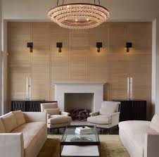 Four Series Of Wall Mounted Lighting Fixtures In Living Room Luxurious  Crystal Pendant Lamp A Fireplace
