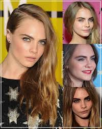 cara delevingne makeup with her blonde hairstyles natural gel mascara sephora dark eyebrows