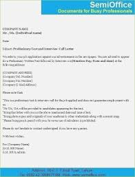 Call Letter Format For Written Test Thepizzashop Co